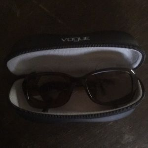 Vogue sunglasses and case